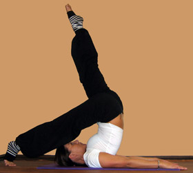 pilates scissor position